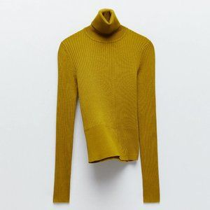 🔥MOVING SALE🔥New ZARA RIBBED SWEATER